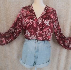 Perfect boho top for the holidays